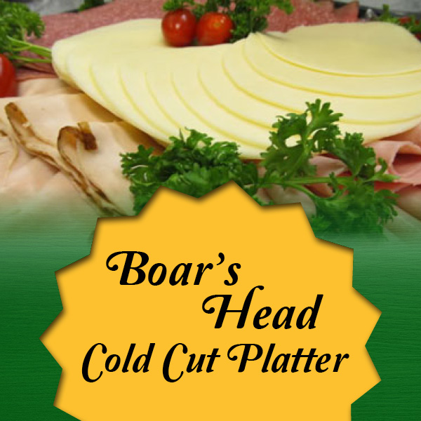 boarshead cold cut platter
