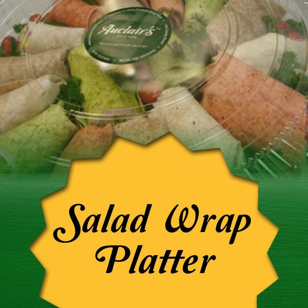 salad-wrap platter