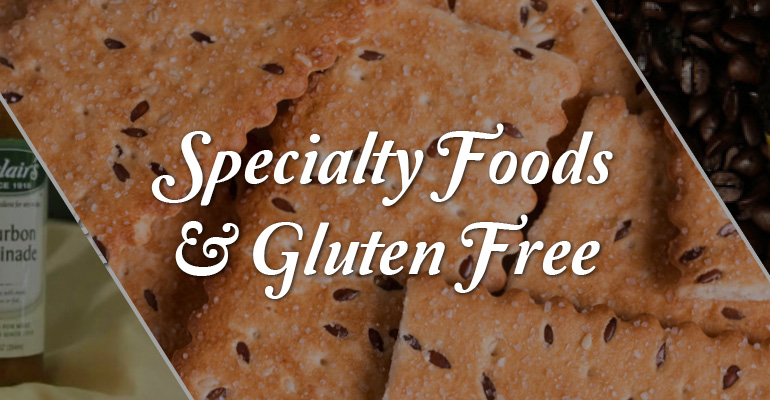 Specialty foods and Gluten Free