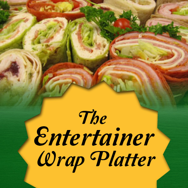 the entertainer wrap platter